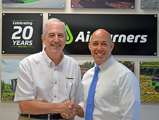 Congressman Brian Mast (right) and Brian O