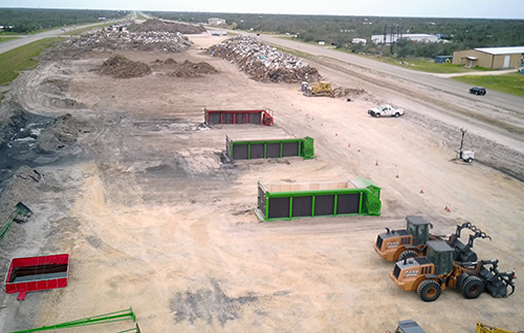 S-327 FireBoxes Supporting Hurricane Harvey Debris Cleanup