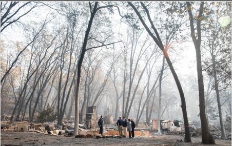 President Trump Surveys Wildfire Destruction in California