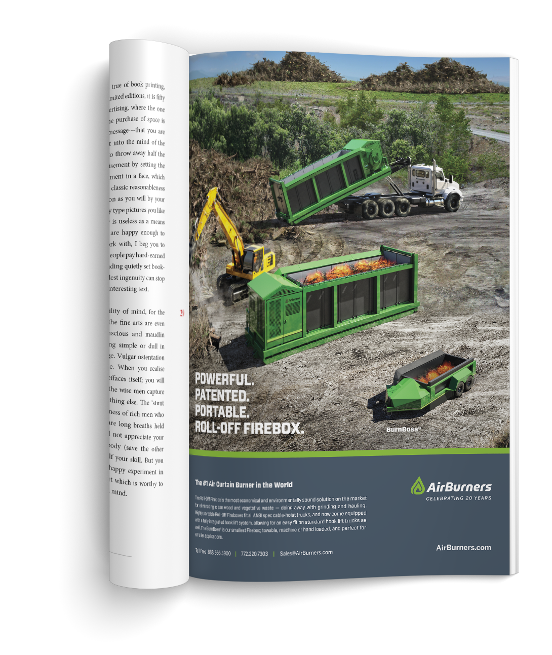 Waste Advantage Editorial Ad